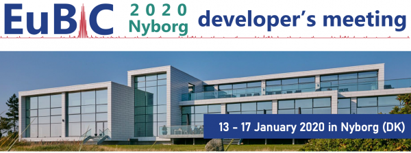 EuBIC Developers' Meeting January 13th – 17th 2020  Nyborg, Denmark